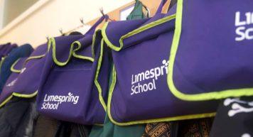 Limespring School Bags